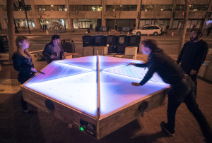 Gensler's Digital Ping Pong Table