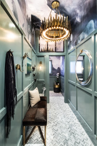 EMI Design Studio cloak room